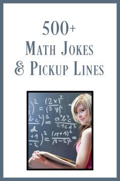 500+ Math Jokes & Pickup Lines: Humor for Math Geeks