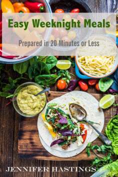 Easy Weeknight Meals: Prepared in 20 Minutes or Less